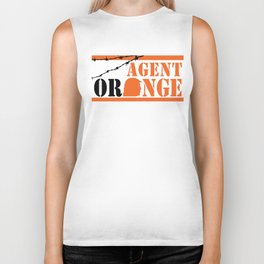 Agent Orange Biker Tank