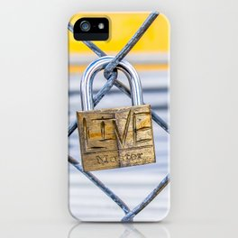 #Live iPhone Case