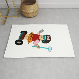 "Cute and unique girl in a board. Grab this fabulous ""Sluggo Is Lit"" tee design. Awesome gift too!  Rug"