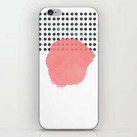 polka dot iPhone & iPod Skins featuring polka dot by Ceren Aksu Dikenci