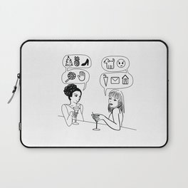 You Speak Excellent Emoji Laptop Sleeve