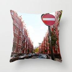 london calls Throw Pillow