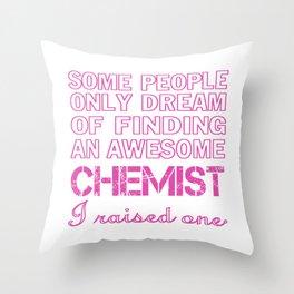 CHEMIST'S MOM Throw Pillow