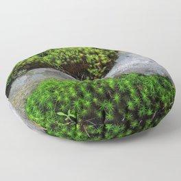Vibrant Moss Floor Pillow