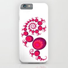 Pretty Pink Paisley on White Slim Case iPhone 6s