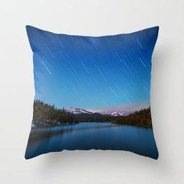 Falling Stars Throw Pillow