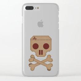 Paper Pirate Clear iPhone Case