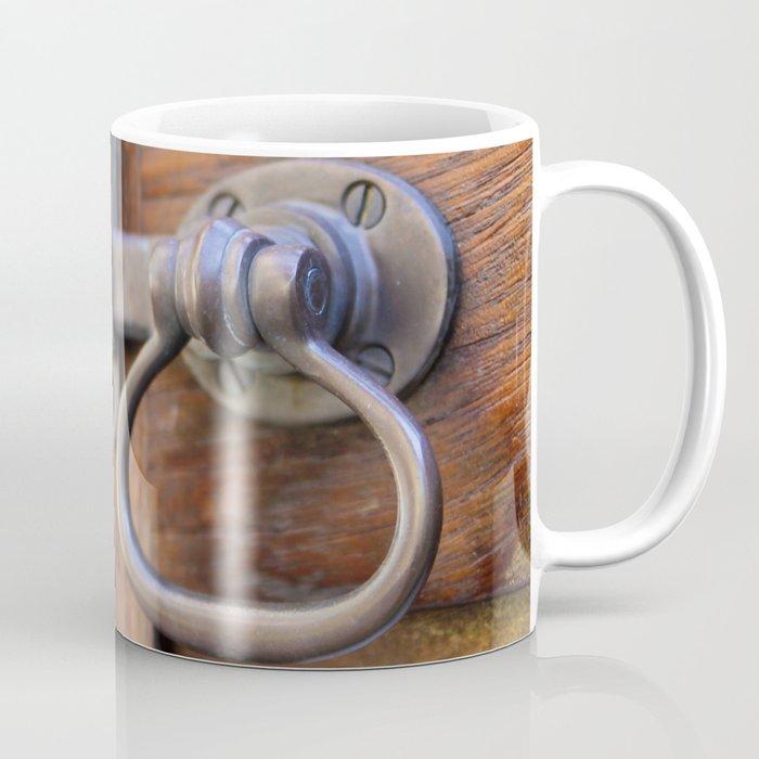 Garden Gate Door Lock Coffee Mug