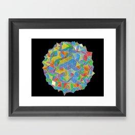 IsoPixel II Framed Art Print