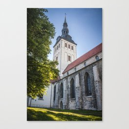 Tallin 1.7 Canvas Print