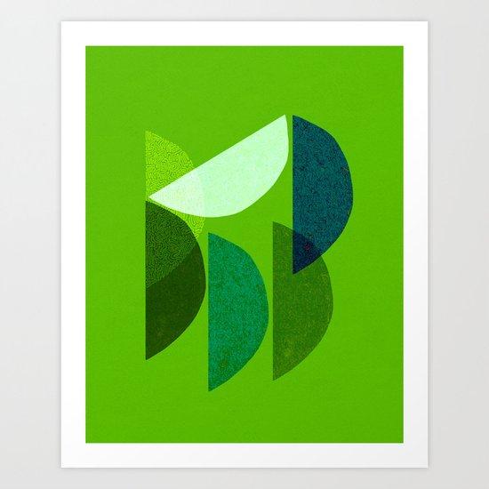 Wedges Art Print