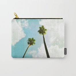 Bright Palms Carry-All Pouch