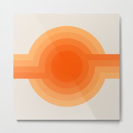 Sunspot -  Creamsicle Metal Print