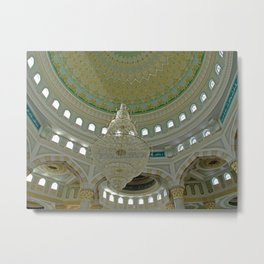 ARCH ABSTRACT 16: Nur-Astana Mosque, Astana Metal Print