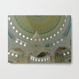 ARCH ABSTRACT 16: Nur-Astana Mosque, Astana Metal Print
