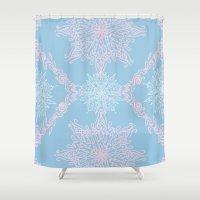bubblegum Shower Curtains featuring Bubblegum by Samera Tseng
