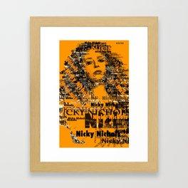 Nicky Nichols (Natasha Lyonne) - OITNB Framed Art Print