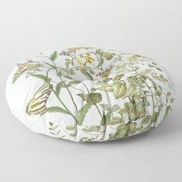 Cultivating my mind garden Floor Pillow