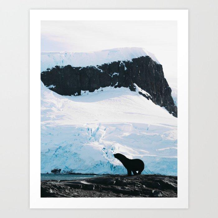 SealOuette Art Print