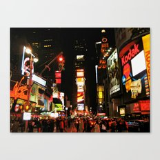 Time Square Doesn't Sleep Canvas Print