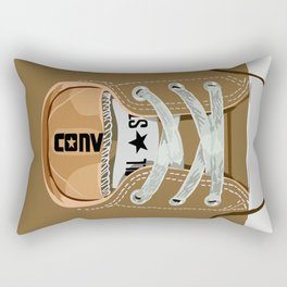 Cute brown baby shoes apple iPhone 4 4s 5 5s 5c, ipod, ipad, pillow case and tshirt Rectangular Pillow