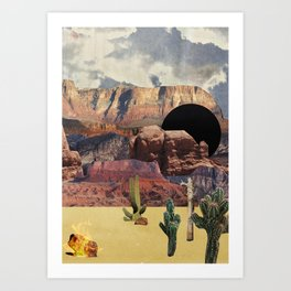 Portals: Desert Art Print