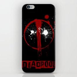 Deadpool. iPhone Skin