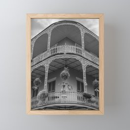New Orleans Architecture Framed Mini Art Print