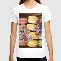 macaroon T-shirts featuring Pretty Macaroons by Olivia Joy StClaire