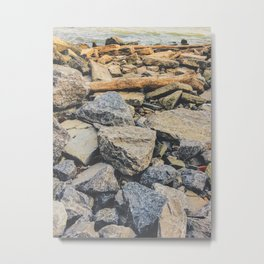 Washed up Metal Print