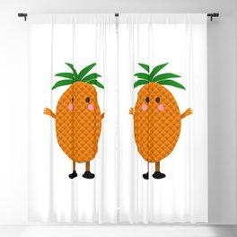 Mister Pineapple  Blackout Curtain