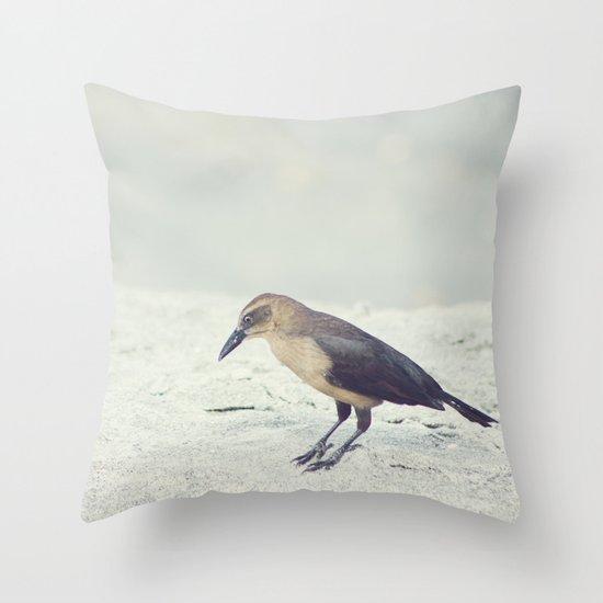 Little Bird I Throw Pillow
