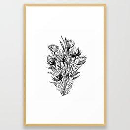 Summer Bouquet Framed Art Print