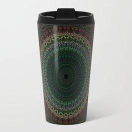 Detailed mandala with spikes Travel Mug