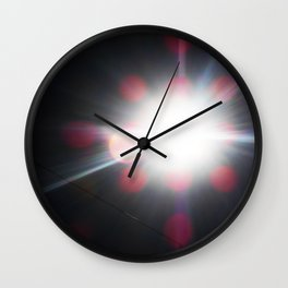 Total Eclipsy Eclipse 3 - 2017 Wall Clock