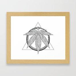 Cannaboros Framed Art Print