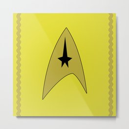 Star Trek - Sulu Metal Print