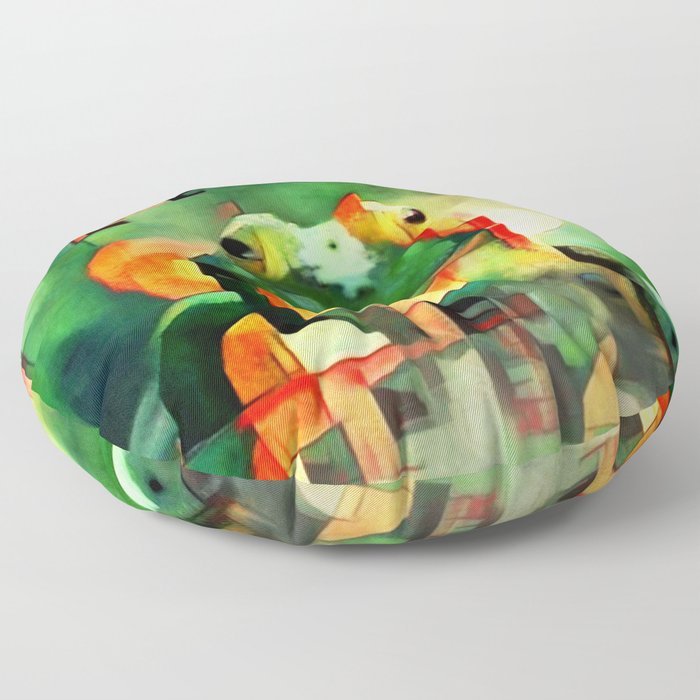 Ree Deep Rock Floor Pillow