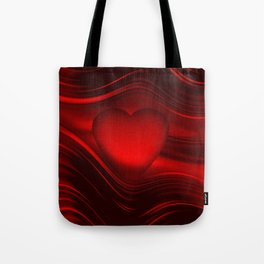 Red heart 16 Tote Bag