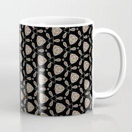 Geometric white roses Coffee Mug