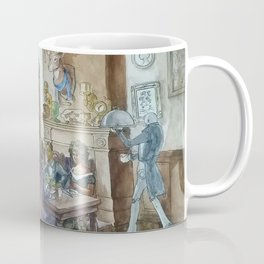 Steampunk Family Dinner Coffee Mug