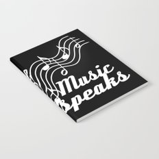 When words fail music speaks Notebook