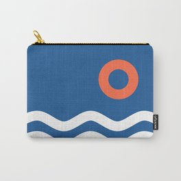 Nautical 03 Seascape Carry-All Pouch