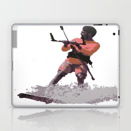 Board Out Of Your Mind Kitesurf Vector Laptop & iPad Skin