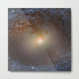 Galaxy IC 2051 in Southern constellation of Mensa - Table Mountain Photograph Metal Print