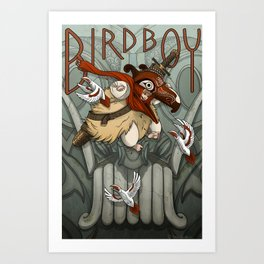Bird Boy Promo Poster Art Print