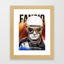 Fangio Framed Art Print