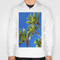 coconut wishes Hoodies featuring Coconut Peaks by Tom Lee