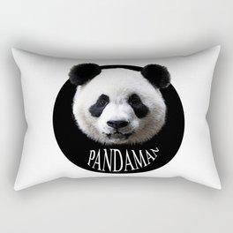 Panda cool man colors fashion Jacob's Paris Rectangular Pillow