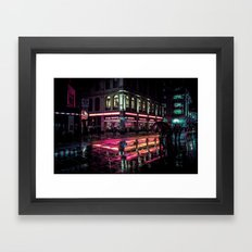 London Nights Framed Art Print